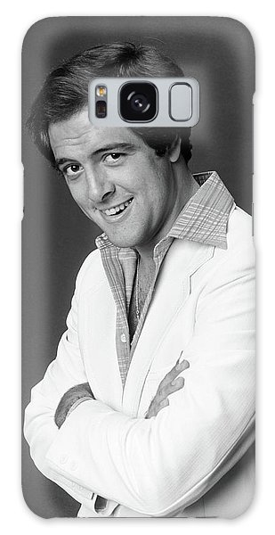 Sly Galaxy Case - 1970s Portrait Of Man In White Sports by Vintage Images