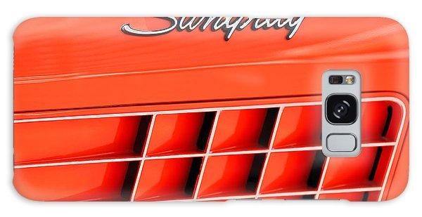 1972 Galaxy Case - 1972 Chevrolet Corvette Stingray Emblem 3 by Jill Reger