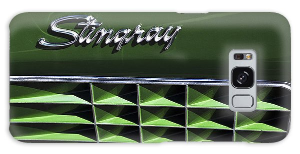 1972 Galaxy Case - 1972 Chevrolet Corvette Stingray Emblem by Jill Reger