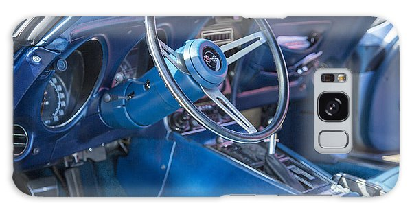 1972 Chevrolet Corvette Stingray Interior Blue 3031.02 Galaxy Case