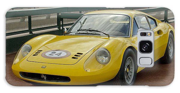 1972 Galaxy Case - 1972 Ferrari Dino 246 by Jill Reger