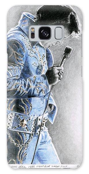 Elvis Presley Galaxy Case - 1972 Light Blue Wheat Suit by Rob De Vries