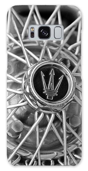 1972 Galaxy Case - 1972 Maserati Ghibli 4.9 Ss Spyder Wheel Emblem by Jill Reger