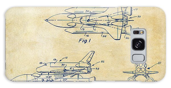 1975 Space Shuttle Patent - Vintage Galaxy S8 Case