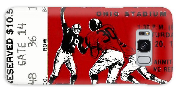 1979 Ohio State Vs Wisconsin Football Ticket Galaxy Case