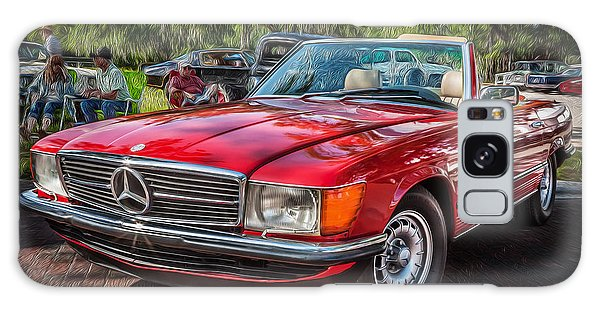 1984 Mercedes 500 Sl Painted  Galaxy Case