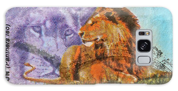 1993 Nigerian Lion Stamp Galaxy Case