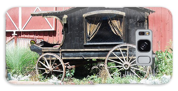 19th Century Hearse Galaxy Case