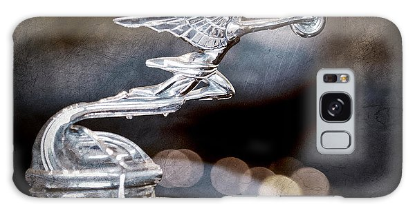 Galaxy Case featuring the photograph 1930 Packard Model 733 Convertible Coupe Hood Ornament by Jill Reger