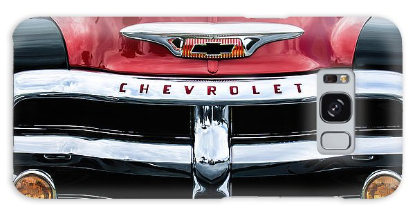 1955 Chevrolet 3100 Pickup Truck Grille Emblem Galaxy Case