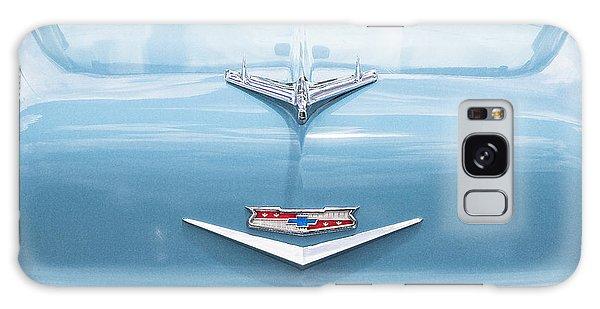 Dual Exhaust Galaxy Case - 1956 Chevrolet Hood Ornament by Rich Franco