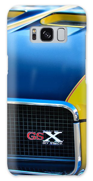 Galaxy Case featuring the photograph 1970 Buick Gsx Grille Emblem by Jill Reger