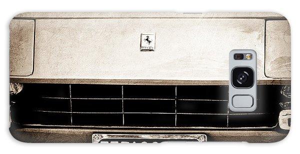 1972 Galaxy Case - 1972 Ferrari 365 Gtb -4a Grille Emblem by Jill Reger