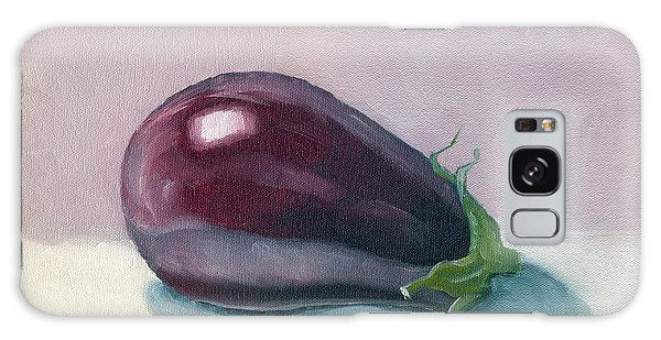 A Is For Aubergine Galaxy Case by Katherine Miller