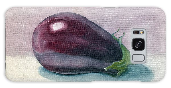 A Is For Aubergine Galaxy Case