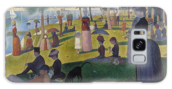 Art Institute Galaxy Case - A Sunday On La Grande Jatte by Georges Seurat