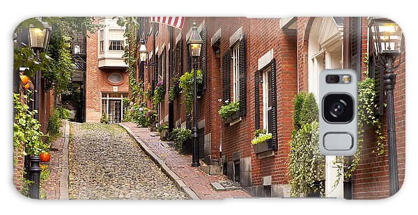 Acorn Street Boston Galaxy Case