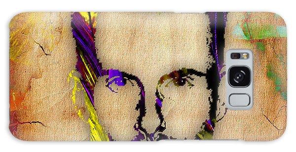 Adam Levine Galaxy Case by Marvin Blaine