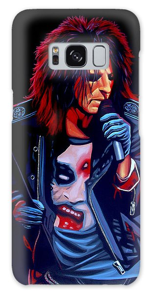 Alice Cooper Galaxy Case - Alice Cooper  by Paul Meijering