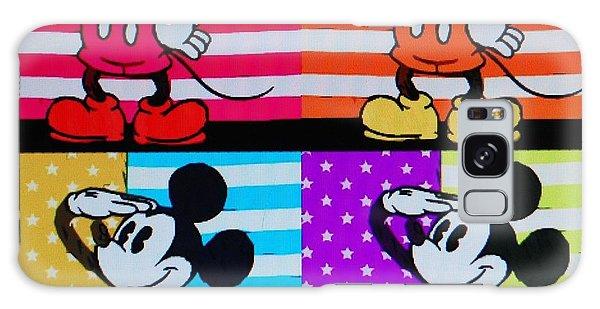 American Mickey Galaxy Case