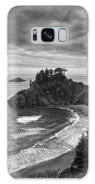 Sea Stacks Galaxy Case - Approaching Storm by Andrew Soundarajan