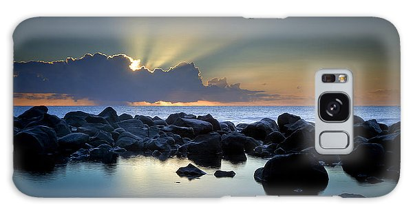 Aqua Marine Galaxy Case by Brad Grove