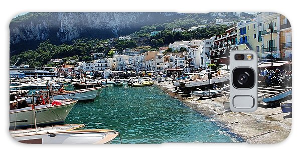 Arrival To Capri  Galaxy Case by Dany Lison