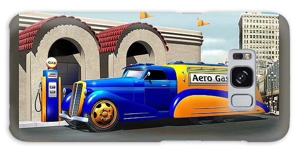 Art Deco Gas Truck Galaxy Case