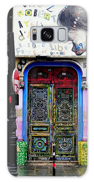 Artistic Door In Paris France Galaxy Case