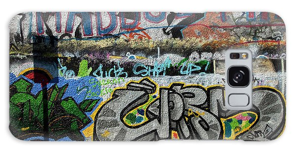 U2 Galaxy Case - Artistic Graffiti On The U2 Wall by Panoramic Images