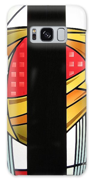 Arts And Crafts Abstract Galaxy Case by Gilroy Stained Glass