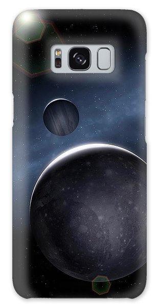 Chasm Galaxy Case - Artwork Of Jovian Moon Ganymede by Mark Garlick/science Photo Library