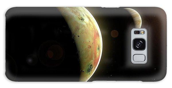Chasm Galaxy Case - Artwork Of Jovian Moon Io by Mark Garlick/science Photo Library