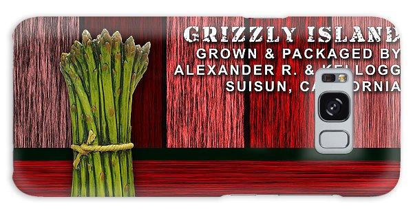Asparagus Farm Galaxy Case