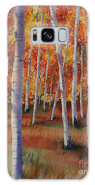 Aspen Forest Galaxy Case