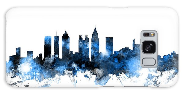 United States Galaxy Case - Atlanta Georgia Skyline by Michael Tompsett