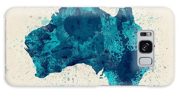 Victoria Galaxy Case - Australia Paint Splashes Map by Michael Tompsett