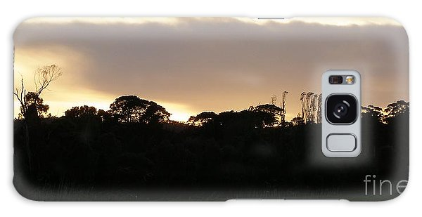 Australian Sunrise Galaxy Case by Bev Conover