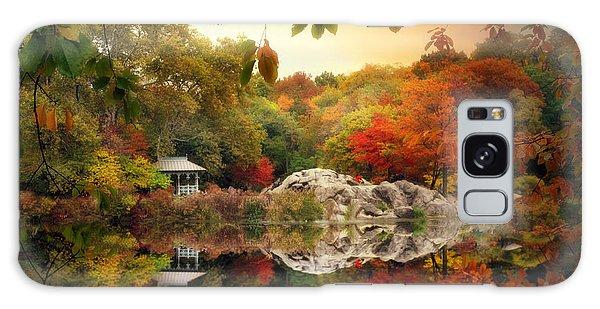 Autumn At Hernshead Galaxy Case
