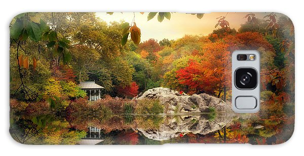 Autumn At Hernshead Galaxy Case
