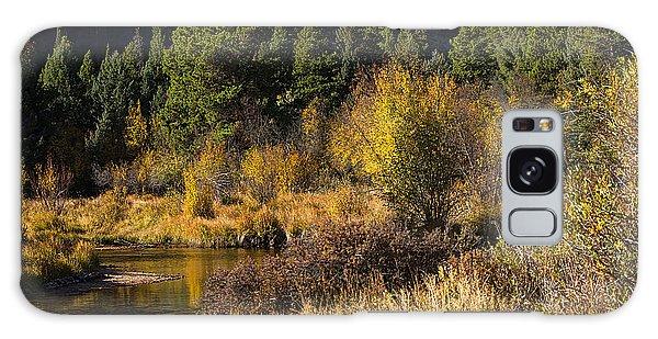 Autumn In The Rockies Galaxy Case by Anne Rodkin