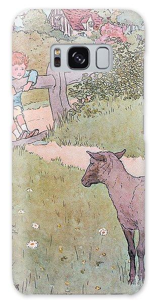 Pasture Galaxy Case - Baa Baa Black Sheep by Leonard Leslie Brooke