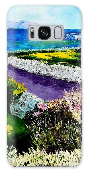 Barna Galway Bay Ireland Galaxy Case by Lynda Cookson