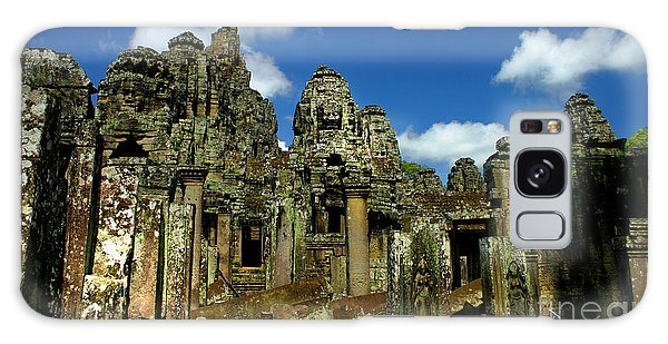 Bayon Temple Galaxy Case by Joey Agbayani