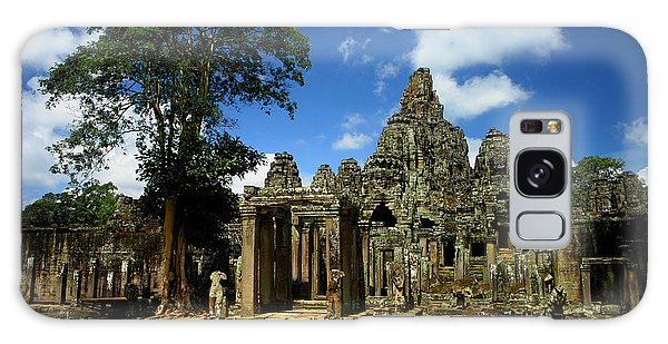 Bayon Temple View From The East Galaxy Case by Joey Agbayani