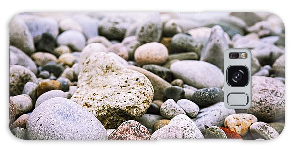 Rock Galaxy Case - Beach Pebbles by Elena Elisseeva