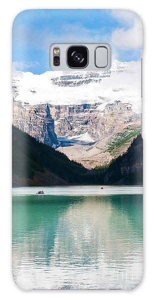 Beautiful Lake Louise Galaxy Case by Cheryl Baxter