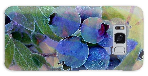 Berry Beautiful Galaxy Case by Shirley Sirois