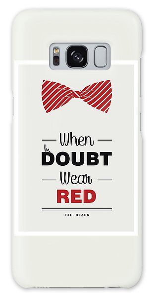 Patriotic Galaxy Case - Bill Blass American Fashion Designer Quote Typography Design Quotes, Poster by Lab No 4 - The Quotography Department
