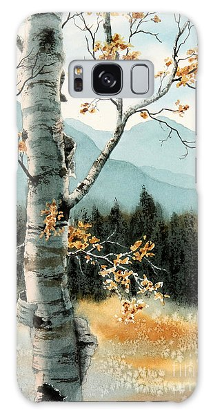 Paper Birch Galaxy Case